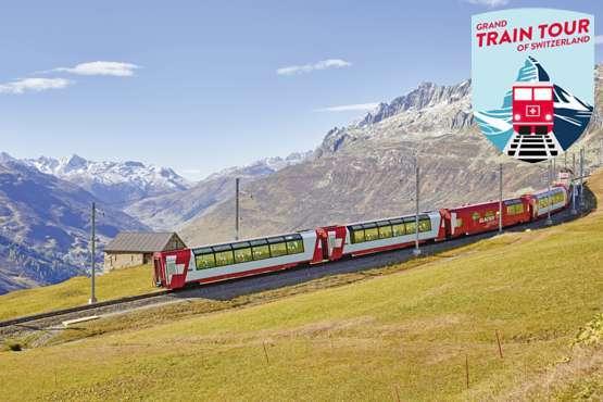 Glacier Express near Oberalppass © Glacier Express / Stefan Schlumpf