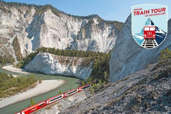 Grand Train Tour of Switzerland «Top-Attraktionen»
