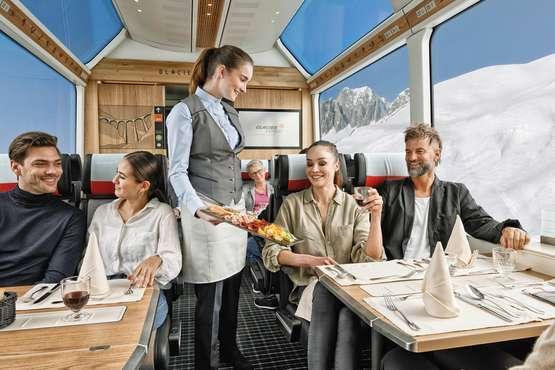Glacier Express Mittagessen / Abendessen