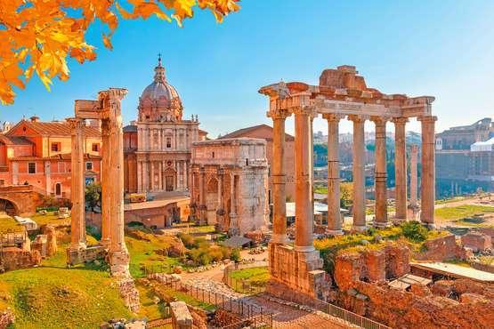 Kolosseum, Forum Romanum und Palatin mit Audio