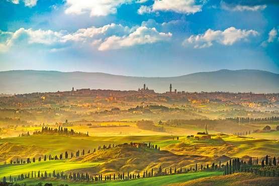 Weinprobe in Chianti