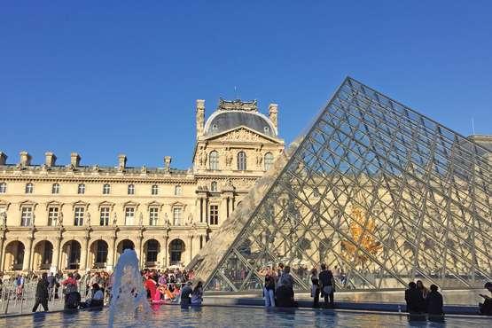 Leonardo da Vinci Ausstellung im Louvre