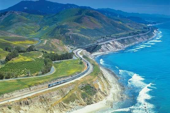 Bahnreise quer durch USA