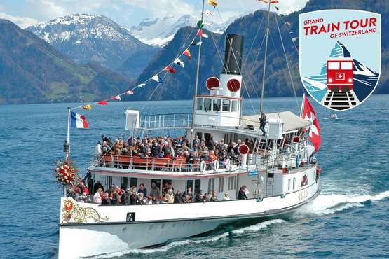 Grand Train Tour Gletscher & Palmen mit Gotthard Panorama Express