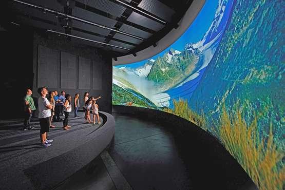 Bien du Patrimoine mondial Swiss Alps Jungfrau-Aletsch Centre de visiteurs «World Nature Forum»