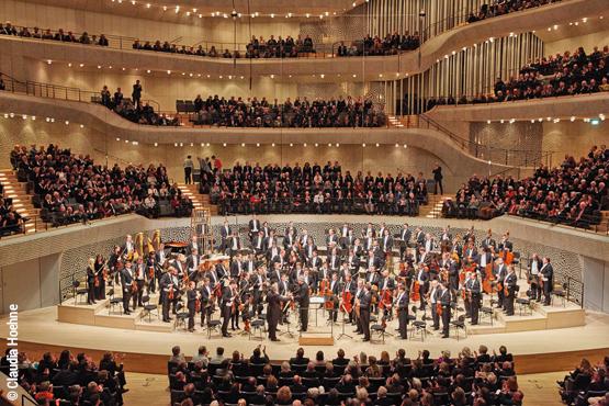 Wir spielen für Sie die erste Geige – Sichern Sie sich einen der begehrten Plätze im grossen Konzertsaal der Elbphilharmonie!