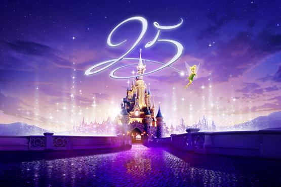 25<sup>e</sup> anniversaire – Disneyland® Paris est en fête!