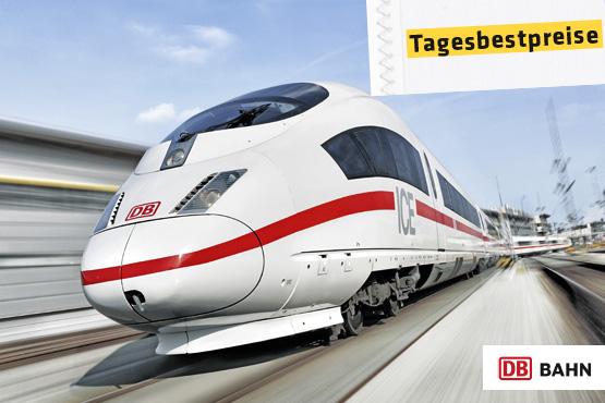 Deutsche Bahn (DB) - das grösste Eisenbahnverkehrsunternehmen in Mitteleuropa.