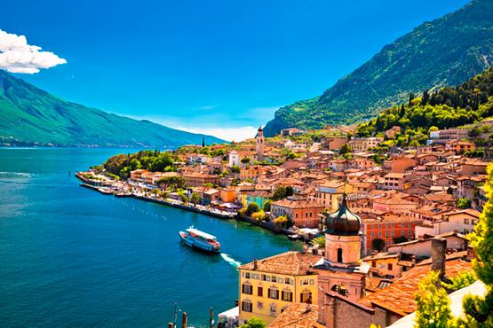Romantische Veloreise durch's Südtirol und Trentino bis nach Verona.