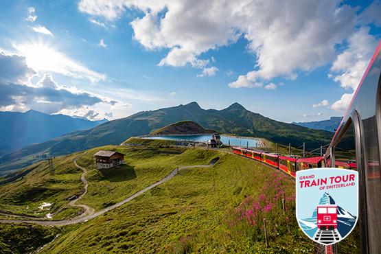 Die Grand Train Tour of Switzerland verbindet die schönsten Panoramarouten zu einem einmaligen Reiseerlebnis.