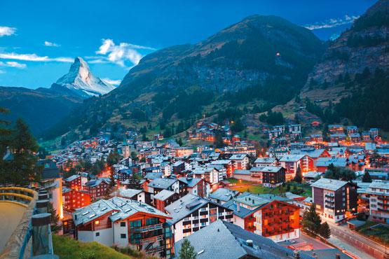 Du chic au traditionnel – de St. Moritz à Zermatt