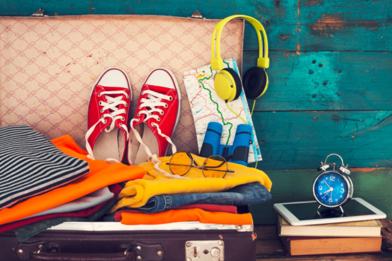 préparatifs de voyage