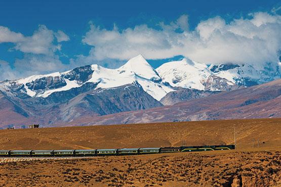 Bahnreisen China